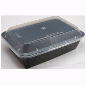 Plastic Utensils Glass With Built-In Cap - Suitable for use in Microwave Oven - FRUIT STORES